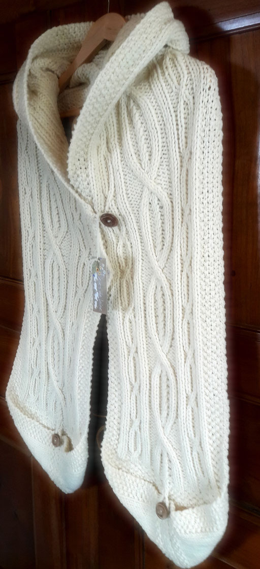 L'écharpe Celtique Alsacienne (par Mireille)