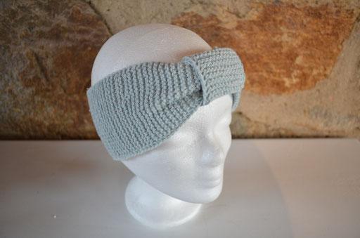 handgestricktes Stirnband aus Baumwollgarn, 8,00 €