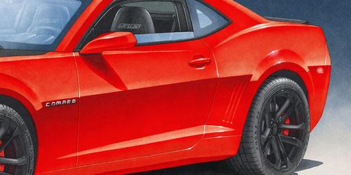 Les pneus sont hautement détaillés de par l'ajout du lettrage sur les flanc de même que le rendu de l'intérieur est rehaussé