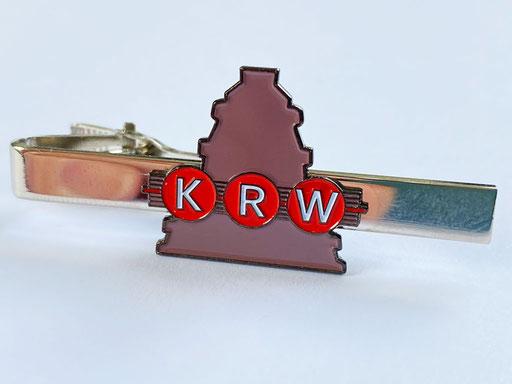 """Krawattenklammer """"KRW"""""""