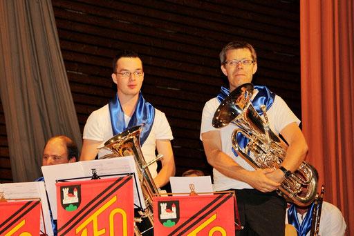 Die M&M-Euphonium-Solisten: Marco und Markus