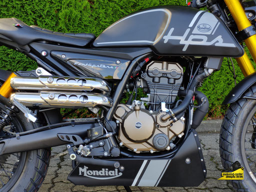 Motorrad-Center Dreispitz, F.B Mondial HPS 125i ABS