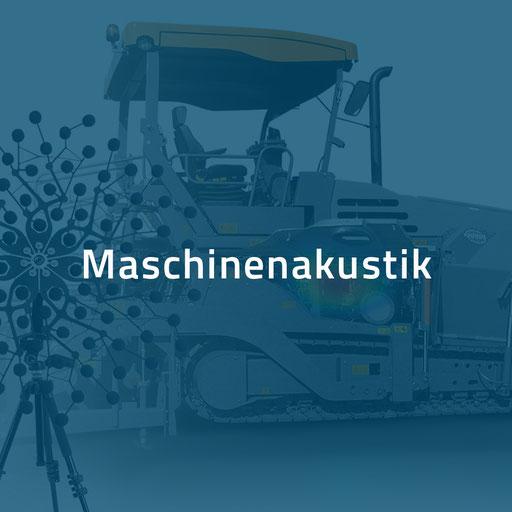 Maschinenakustik