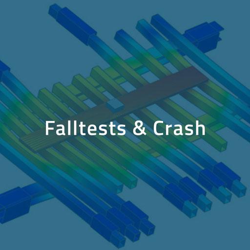 Falltests und Crash