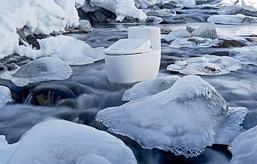Fotoshoot Accent bei minus 15 Grad Celsius | Foto Ben Huggler