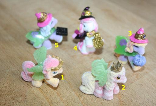 Art.1.16.2005 mini filly mit ihnen wurde gespielt nur sehr wenig die fillys die neogrüne flügel haben die leuchten in der nacht je 2chf