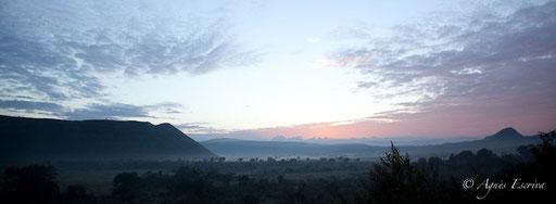 Lever de soleil sur Soysambu