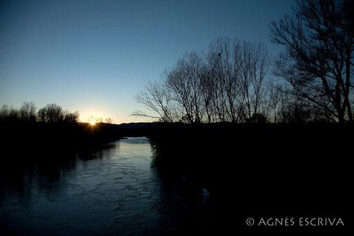 L'Allier vers l'ouest - Nonette - automne 2010