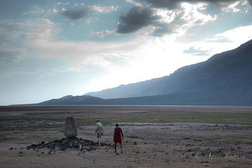 Frontière Tanzanie-Kenya, Lac Natron