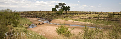 Sand River (1) - frontière Kenya/Tanzanie