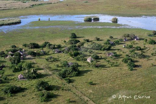 Le seul campement de Bangweulu