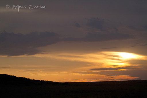 Coucher de soleil sur Rhino Ridge