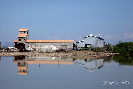 Usine de soude, lac Magadi