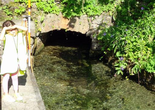 Höhenmessungen an der Lochquelle Truckenthal