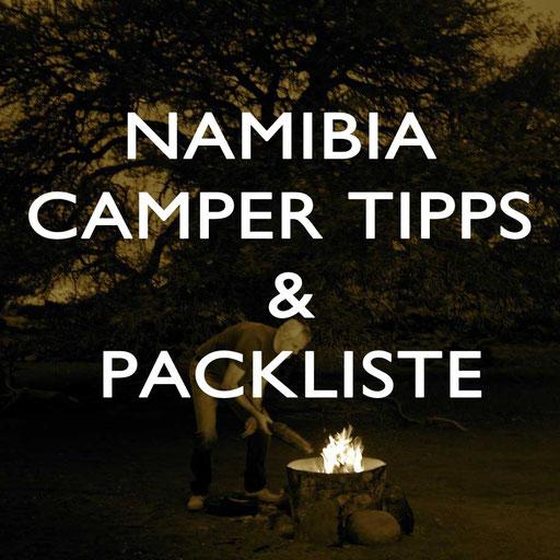 Namibia Camper Reise Tipps Reiseblog