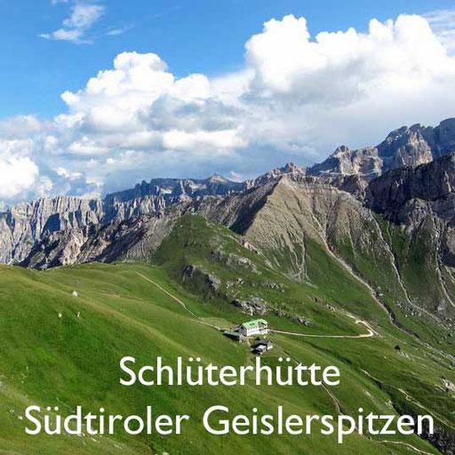 Hüttenwandern Schlüterhütte Geislerspitzen Südtirol Reiseblog Edeltrips