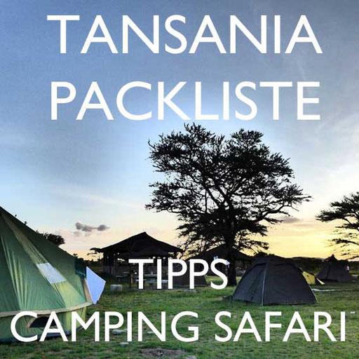 Tansania Camping Safari Norden Reiseblog