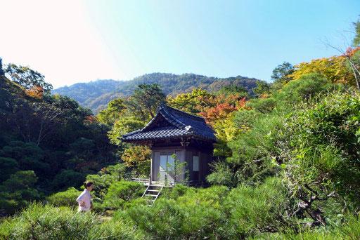 Tipp Kyoto Ausflug nach Arashiyama Villa Okochi Sanso Reisebericht Reiseblog