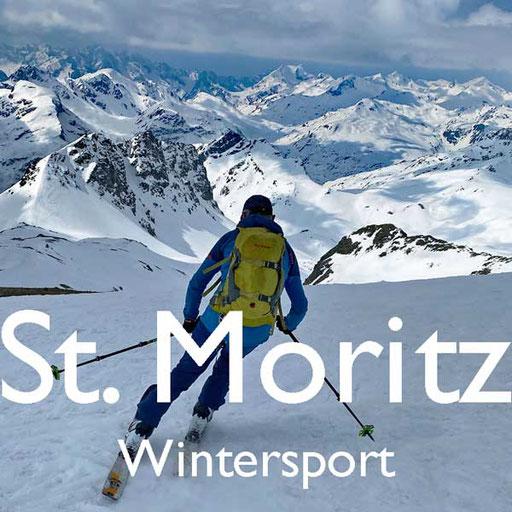 Wintersport in St Moritz Engadin Reiseblog Edeltrips