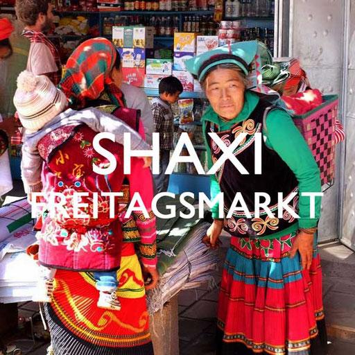 Shaxi Freitagsmarkt China Yunnan