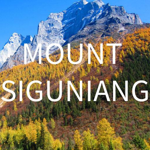 Mount Siguniang China reiseblog