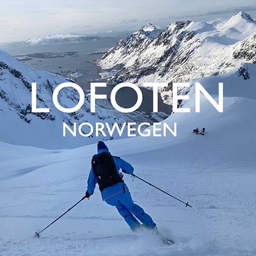 Norwegen Skitouren Lofoten, Reiseblog Edeltrips