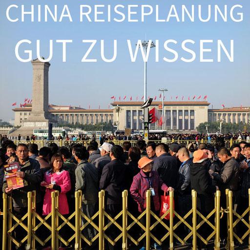 China Reisevorbereitung Peking