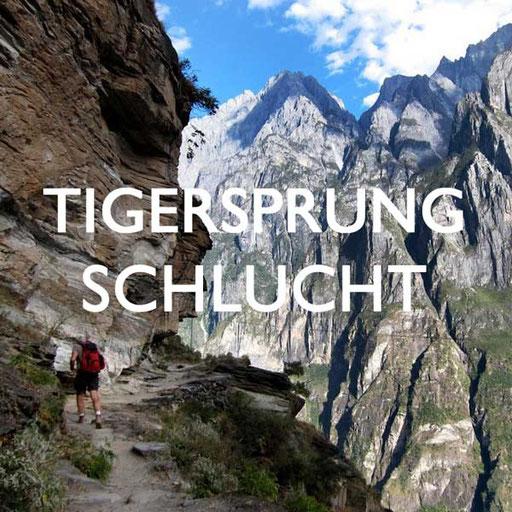 Tigersprungschlucht China Reiseblog
