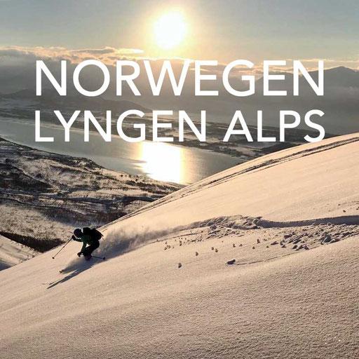 Norwegen Skitouren Lyngen Alps, Reiseblog Edeltrips