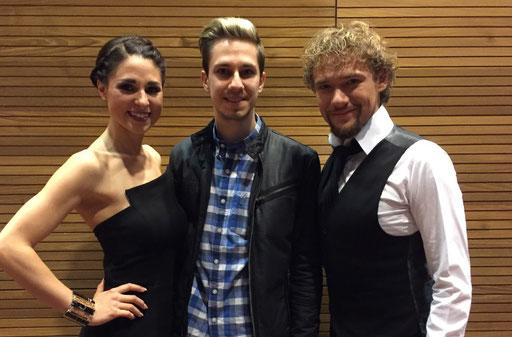 Thommy Ten & Amelie van Tass (Weltmeister der Mentalmagie) und Magic Dominik, 2017