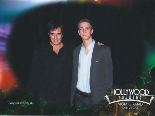 David Copperfield und Magic Dominik, 2011