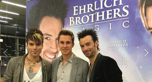 Ehrlich Brothers und Magic Dominik, 2015
