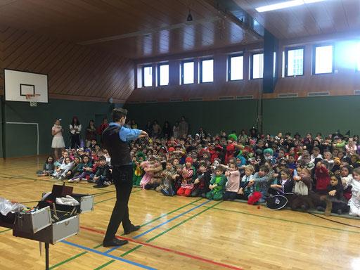 Faschingsdienstag in einer Volksschule, 2018
