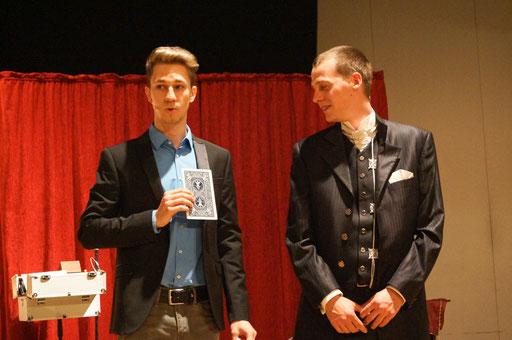 Magic Dominik Bühnenmagie für Erwachsene