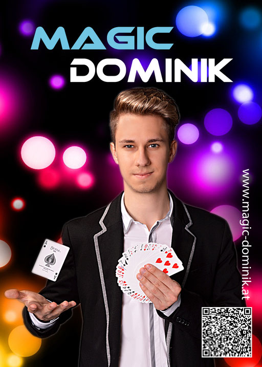 Autogrammkarte Magic Dominik, 2016