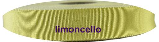 limoncello Viskose Ripsband