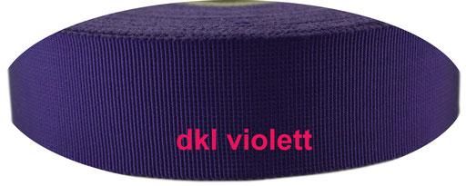 dark violett viscose ribbon