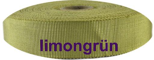 limongrün Viskose Ripsband