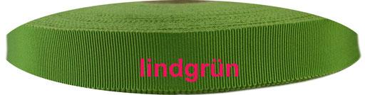 lindgrün Viskose Ripsband