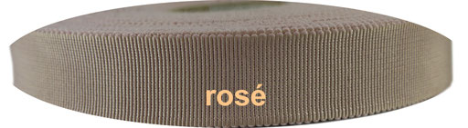 rosé Viskose Ripsband