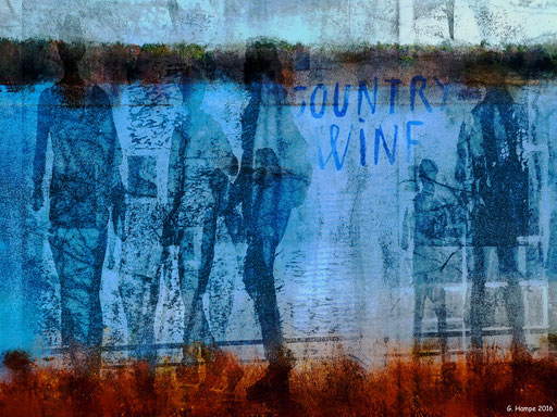 People and country wine