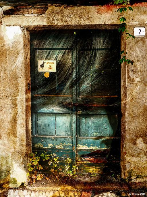 Behind the old door