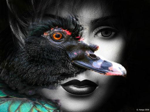 Duck woman