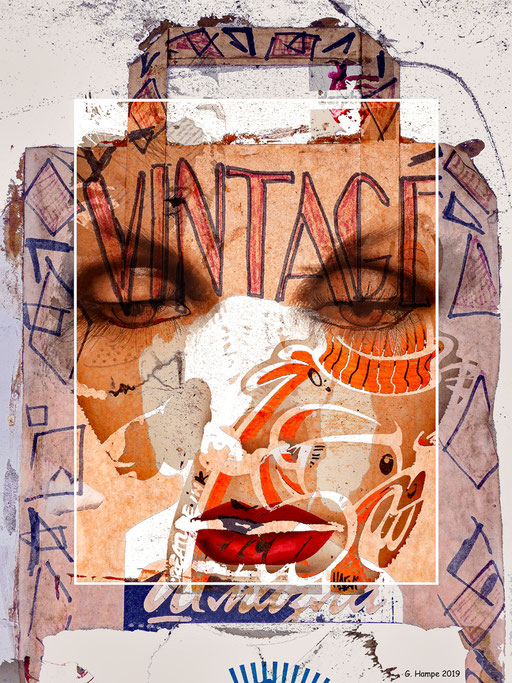 The vintage face