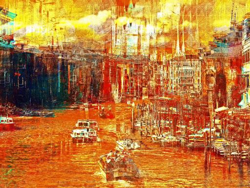 Canale Grande à Venezia