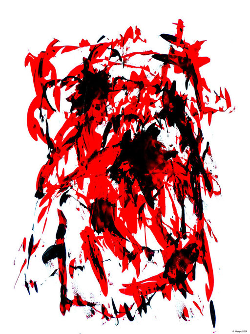 The red apocalypse / 80x100