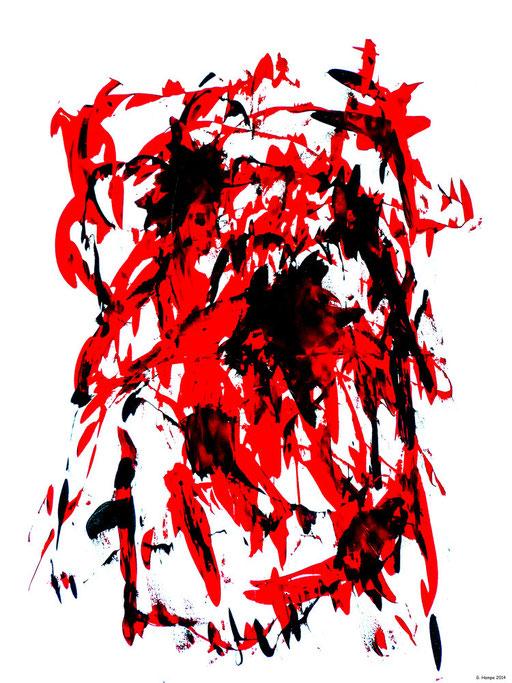 The red apocalypse / 80x100