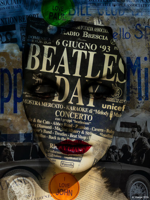 Woman, The Beatles and Mille Miglia