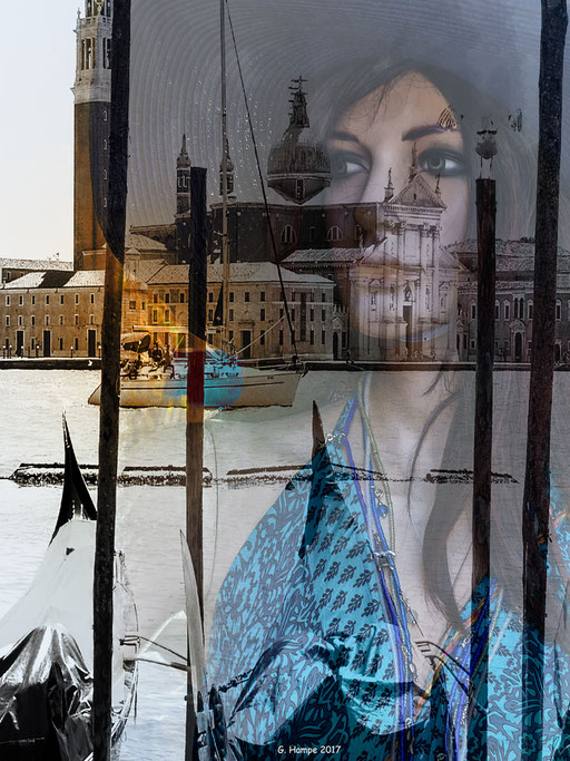 The woman at Venice