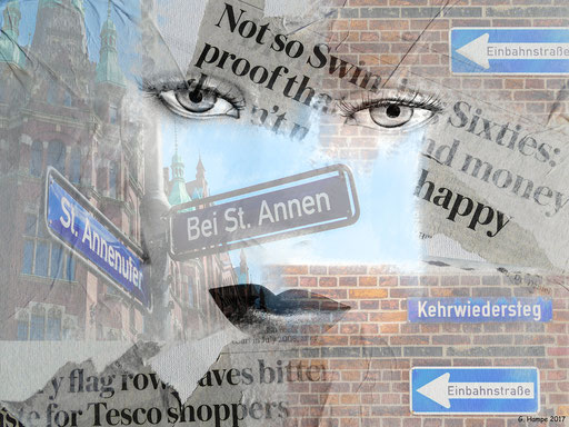 The face and St. Annen